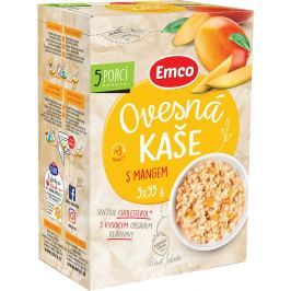 Emco Ovesná kaše s mangem (5x55g)
