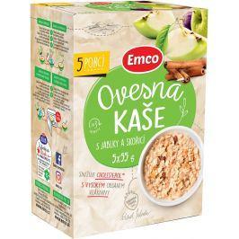Emco Ovesná kaše s jablky a skořicí 5x55g