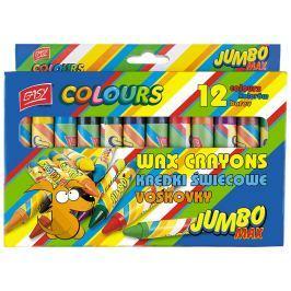 EASY JUMBO MAX Voskovky 12 barev