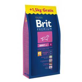 Brit Premium Adult S 8kg + 1,5kg ZDARMA