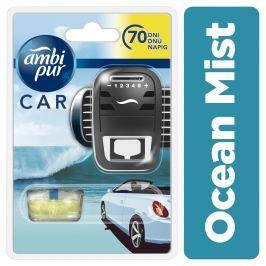 Ambi Pur Car Ocean Mist Osvěžovač Do Auta V Startovací Sadě 7ml
