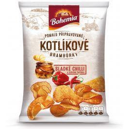 Bohemia Kotlíkové brambůrky Sladké chilli a červená paprika