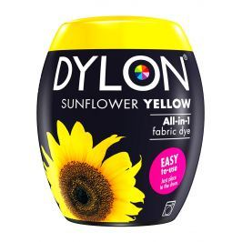 Dylon All-in-1 žlutá barva na textil