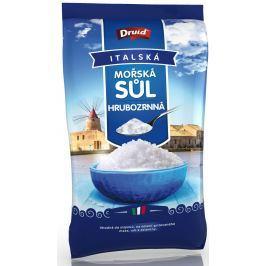 Druid Mořská sůl hrubozrnná (sáček) 1 kg