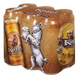 Velkopopovický Kozel Světlý výčepní pivo 6x500ml