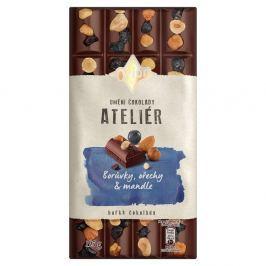 Orion Ateliér Hořká čokoláda Borůvky, ořechy a mandle