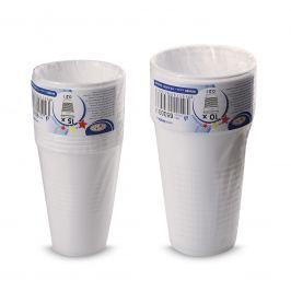 Plastový kelímek bílý 0,3l, 10ks