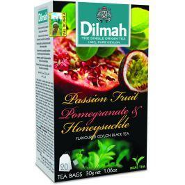 Dilmah Čaj černý Maracuja Granátové jablko Zimolez