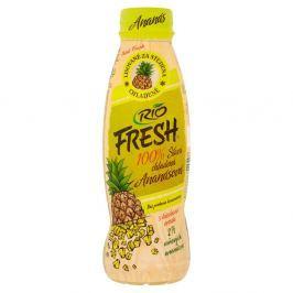RIO FRESH 100% ananasová šťáva lisovaná za studena s ananasovou dužninou
