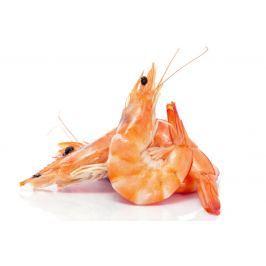 Krevety vařené menší
