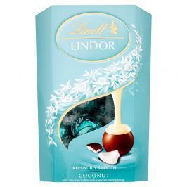 Lindt Lindor pralinky z mléčné čokolády s jemnou kokosovou náplní