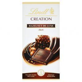 Lindt Creation Hazelnut de Luxe Dark hořká čokoláda