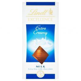 Lindt Excellence Extra Creamy mléčná čokoláda