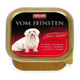 Animonda Vom Feinsten Senior paštika pro psy hovězí a kuře