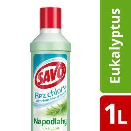 Savo bez chloru na podlahy eukalyptus