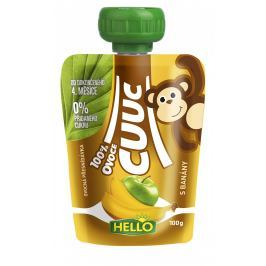 Hello Cuuc 100% ovocná přesnídávka s banány