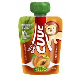 Hello Cuuc 100% ovocná přesnídávka s meruňkami