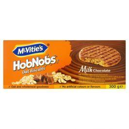 McVitie's HobNobs sušenky máčené v mléčné čokoládě