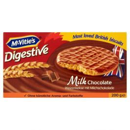 McVitie's Digestive s mléčnou čokoládou