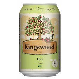 Kingswood Dry cider plech