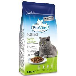 PreVital Naturel granule pro sterilní kočky drůbeží