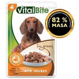 VitalBite dušené filetky kuřecí v omáčce