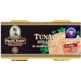 Franz Josef Kaiser Tuňák steak ve slunečnicovém oleji Pack