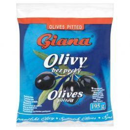 Giana Olivy černé bez pecky