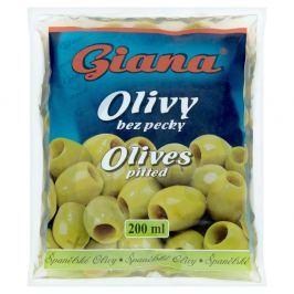 Giana Olivy zelené bez pecky v sáčku