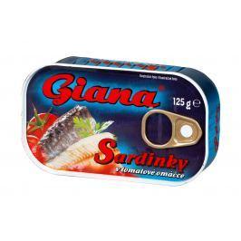 Giana Sardinky v tomatě