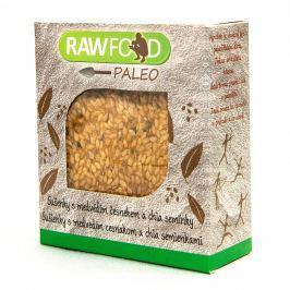 Rawfood Paleo sušenky s medvědím česnekem a chia semínky BIO