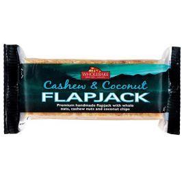 WHOLEBAKE Flapjack ovesný kešu-kokos, bez lepku