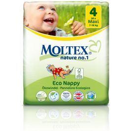 Moltex nature no.1 BIO Jednorázové dětské plenky Maxi 7-18kg (velikost 4) 30ks
