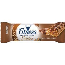 Nestlé Fitness Delice Cereální tyčinka s mléčnou čokoládou