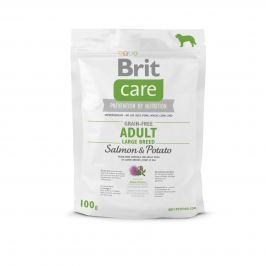 VZOREK: Brit Care Grain-free Adult Large Breed Salmon & Potato 1ks