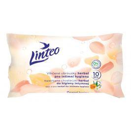 Linteo Vlhčené ubrousky pro intimní hygienu 10ks