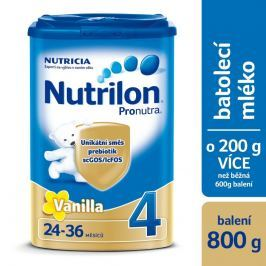 Nutrilon 4 Vanilka batolecí mléko, 24-36 měsíců