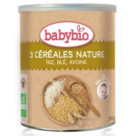 Babybio BIO Nemléčná obilná kaše nature