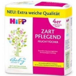 HiPP Babysanft Čistící vlhčené ubrousky 4x56ks
