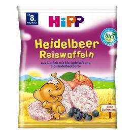 HiPP BIO Borůvkové rýžové oplatky