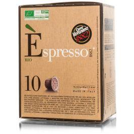 Vergnano BIO Káva 100% Arabica kapsle pro Nespresso kávovary 10ks