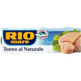 Rio Mare Tuňák ve vlastní šťávě 3x80g,