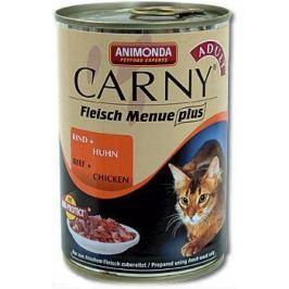 Animonda Carny Adult hovězí a kuře konzerva pro kočky