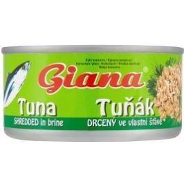 Giana Tuňák drcený ve vlastní šťávě Tuňák