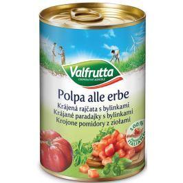Valfrutta Krájená rajčata s bylinkami