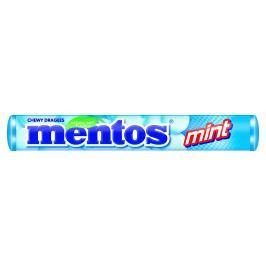Mentos Mint dražé s mentolovou příchutí