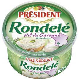 Président Rondelé česnek a bylinky