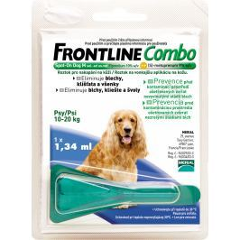 Frontline Antiparazitní Spot on dog Combo M 10-20kg