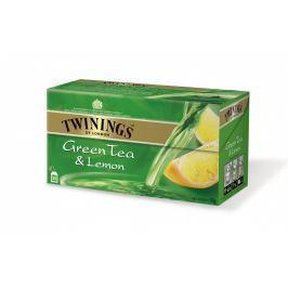 Twinings Zelený čaj s příchutí citrónu 25x1,6g