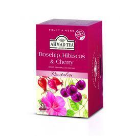 Ahmad Tea Revitalise Šípek, ibišek a třešeň (20x2g)